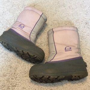 Sorel Kids Size 2 Winter Boots